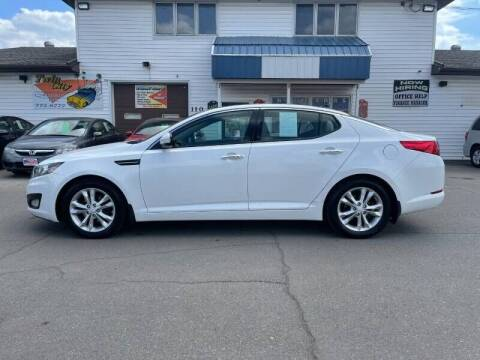2013 Kia Optima for sale at Twin City Motors in Grand Forks ND