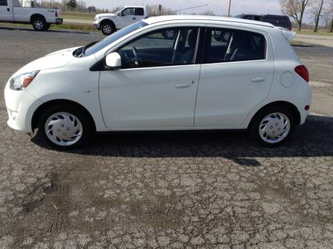 2014 Mitsubishi Mirage for sale at Kevin's Motor Sales in Montpelier OH