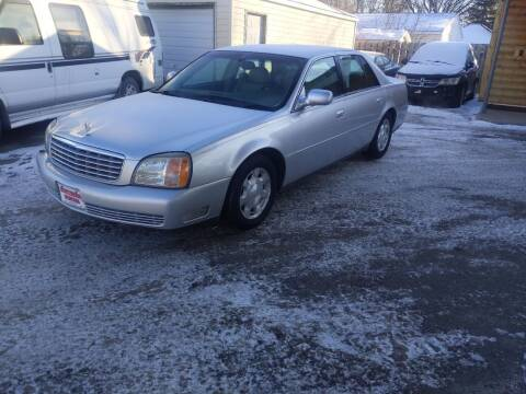 2002 Cadillac DeVille for sale at NORTHERN MOTORS INC in Grand Forks ND