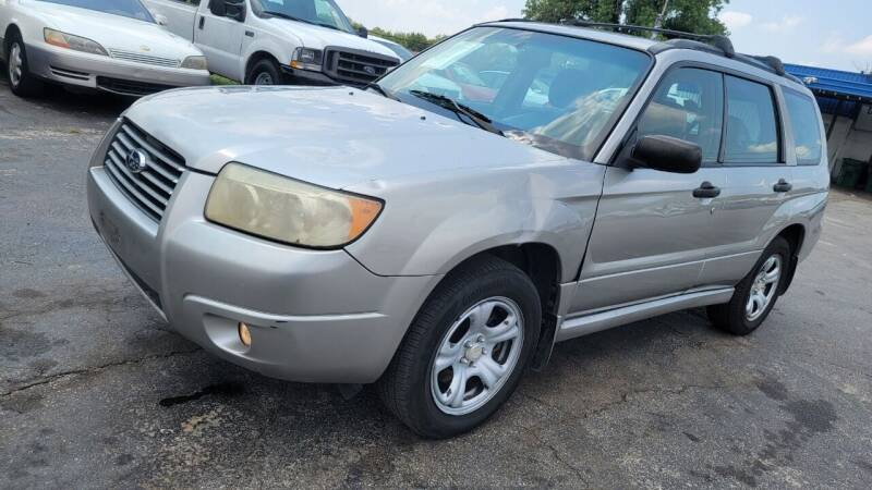 2007 Subaru Forester for sale at Dave-O Motor Co. in Haltom City TX