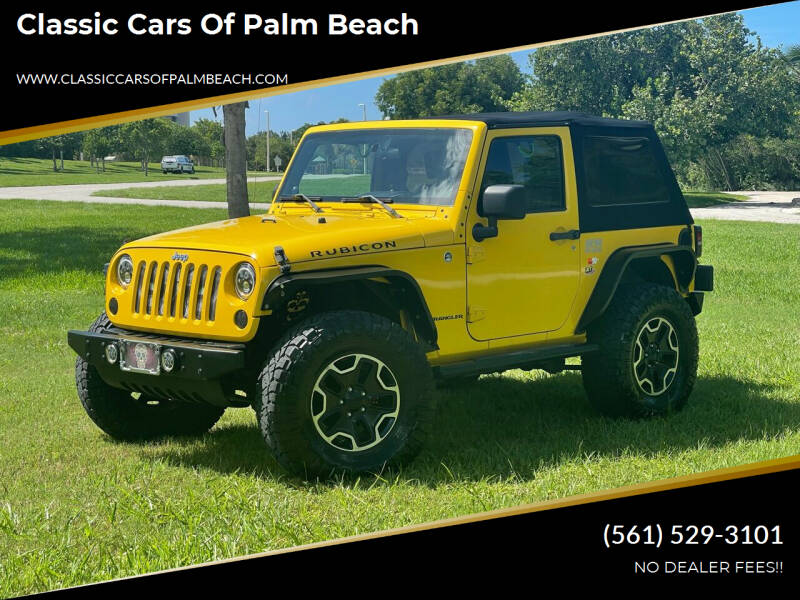 2008 Jeep Wrangler for sale at Classic Cars of Palm Beach in Jupiter FL