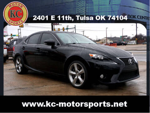 2014 Lexus IS 350 for sale at KC MOTORSPORTS in Tulsa OK