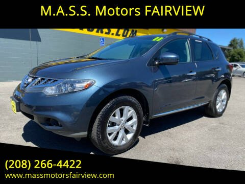 2011 Nissan Murano for sale at M.A.S.S. Motors - Fairview in Boise ID