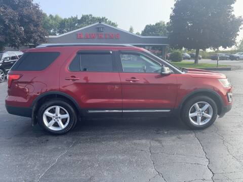 2016 Ford Explorer for sale at Hawkins Motors Sales in Hillsdale MI