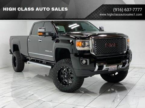 2015 GMC Sierra 3500HD for sale at HIGH CLASS AUTO SALES in Rancho Cordova CA
