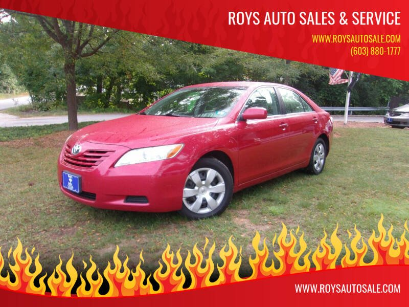 2007 Toyota Camry for sale at Roys Auto Sales & Service in Hudson NH
