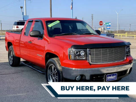 2007 GMC Sierra 1500 for sale at Stanley Direct Auto in Mesquite TX