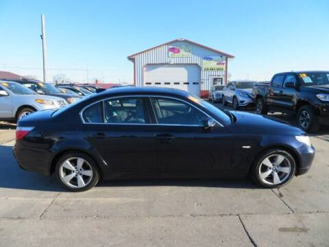 2006 BMW 5 Series for sale at Jefferson St Motors in Waterloo IA