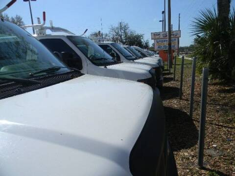 2013 Ford E-Series Cargo for sale at Longwood Truck Center Inc in Sanford FL