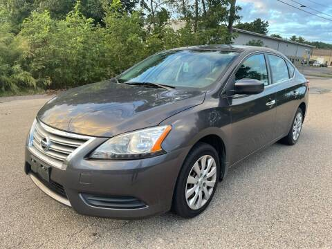 2014 Nissan Sentra for sale at Imotobank in Walpole MA
