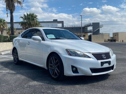 2012 Lexus IS 250 for sale at Motorcars Group Management - Bud Johnson Motor Co in San Antonio TX