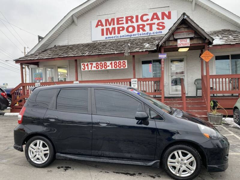 2008 Honda Fit for sale at American Imports INC in Indianapolis IN