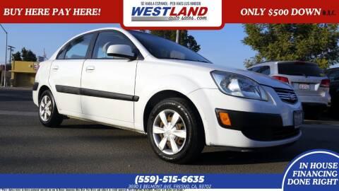 2007 Kia Rio for sale at Westland Auto Sales in Fresno CA