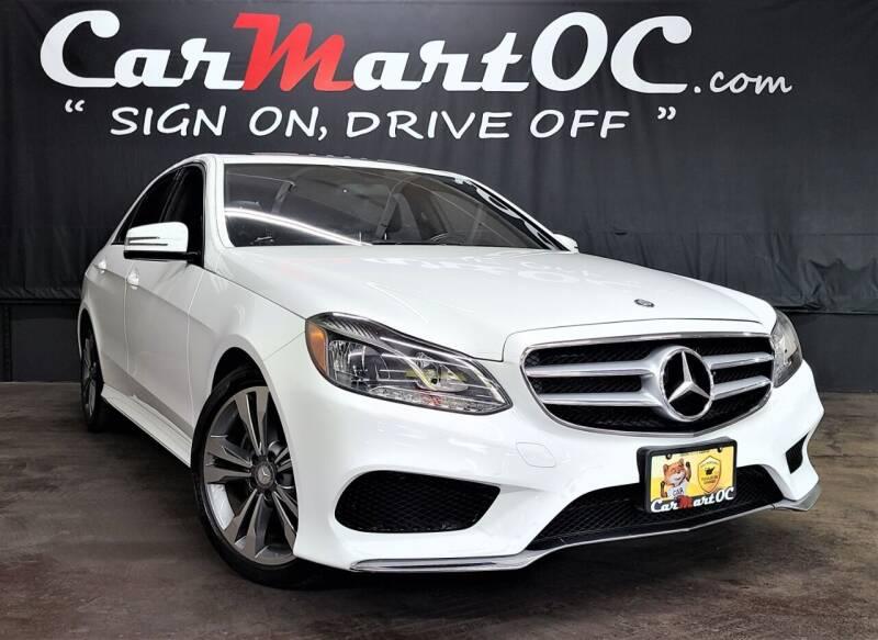 2014 Mercedes-Benz E-Class for sale at CarMart OC in Costa Mesa, Orange County CA