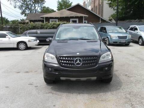 2006 Mercedes-Benz M-Class for sale at Saipan Auto Sales in Houston TX