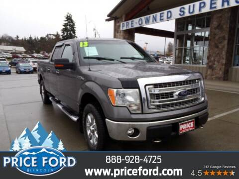 2013 Ford F-150 for sale at Price Ford Lincoln in Port Angeles WA
