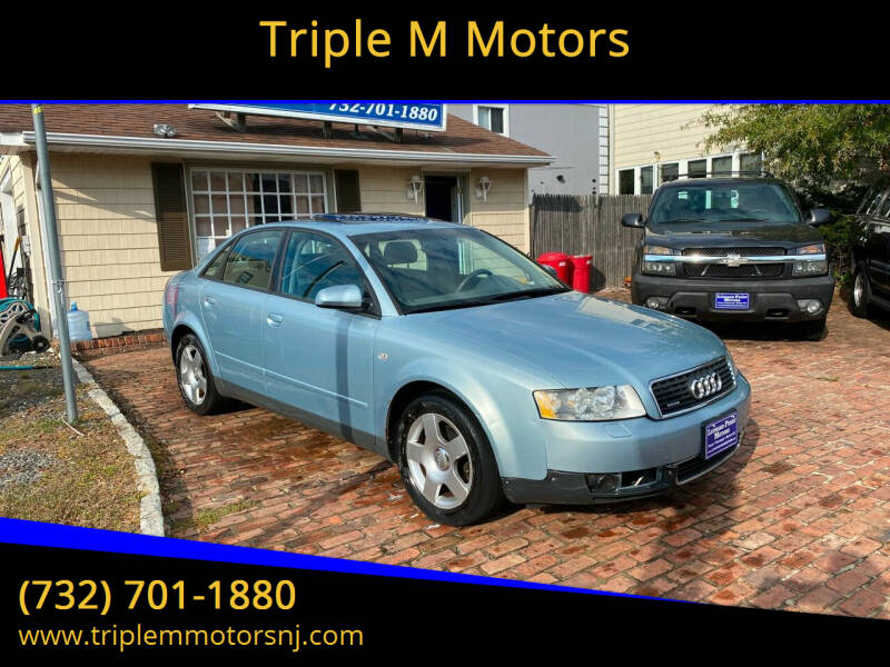 2003 Audi A4 for sale at Triple M Motors in Point Pleasant NJ