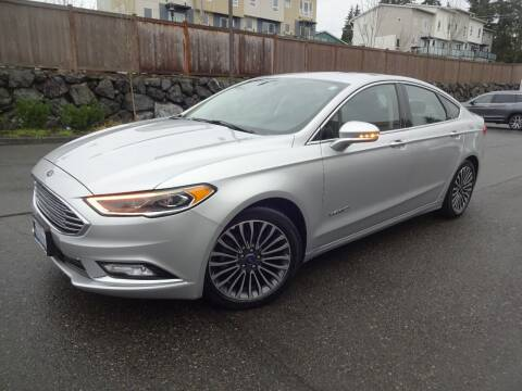 2017 Ford Fusion Hybrid for sale at Prudent Autodeals Inc. in Seattle WA