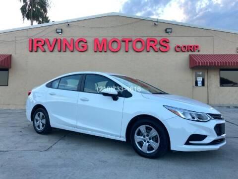 2018 Chevrolet Cruze for sale at Irving Motors Corp in San Antonio TX