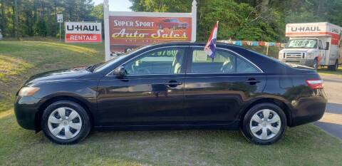 2007 Toyota Camry for sale at Super Sport Auto Sales in Hope Mills NC