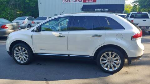 2012 Lincoln MKX for sale at Buddy's Auto Inc in Pendleton SC