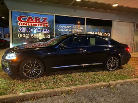 2013 Lexus LS 460 for sale at Carz Unlimited in Richmond VA