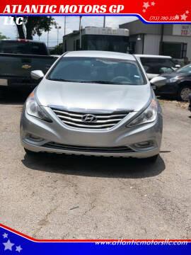 2011 Hyundai Sonata for sale at ATLANTIC MOTORS GP LLC in Houston TX