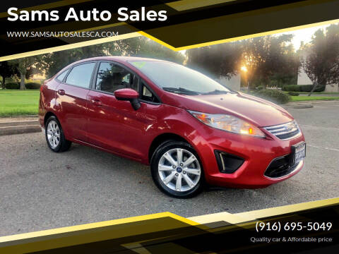 2012 Ford Fiesta for sale at Sams Auto Sales in North Highlands CA