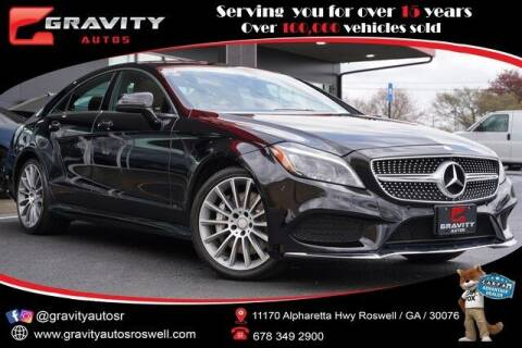 2017 Mercedes-Benz CLS for sale at Gravity Autos Roswell in Roswell GA