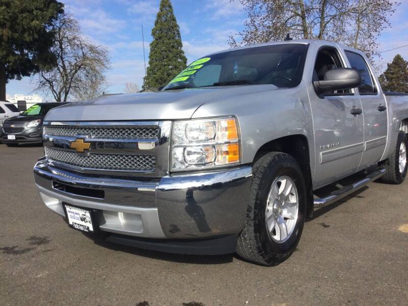 2012 Chevrolet Silverado 1500 for sale at Pacific Auto LLC in Woodburn OR
