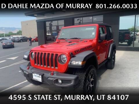 2018 Jeep Wrangler for sale at D DAHLE MAZDA OF MURRAY in Salt Lake City UT