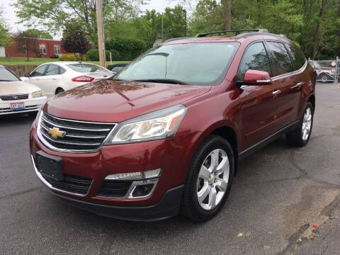 2016 Chevrolet Traverse for sale at Borderline Auto Sales in Loveland OH