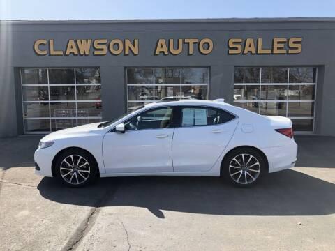 2017 Acura TLX for sale at Clawson Auto Sales in Clawson MI