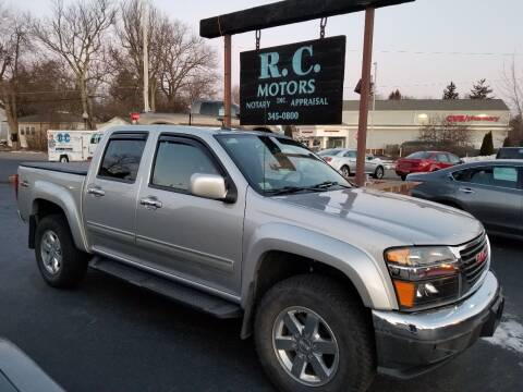 2011 GMC Canyon for sale at R C Motors in Lunenburg MA