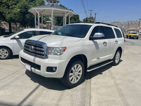 2013 Toyota Sequoia for sale at Los Compadres Auto Sales in Riverside CA