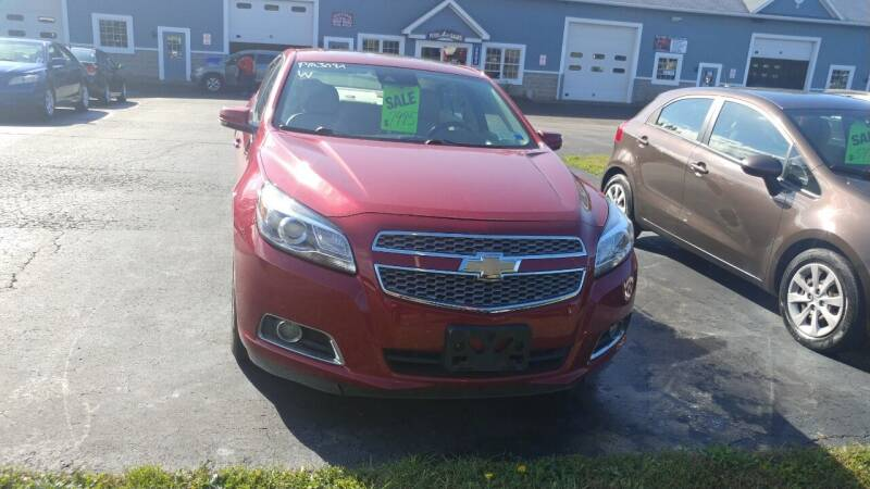 2013 Chevrolet Malibu for sale at Pool Auto Sales Inc in Spencerport NY
