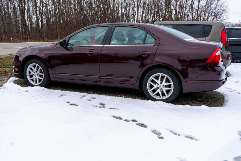 2012 Ford Fusion for sale at Apple Tree Auto Sales in Adrian MI
