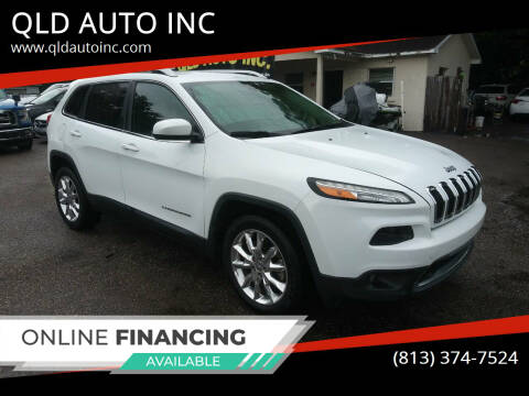 2014 Jeep Cherokee for sale at QLD AUTO INC in Tampa FL