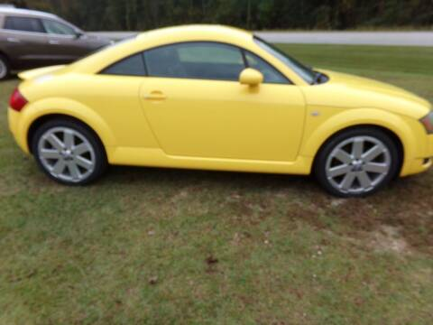 2004 Audi TT for sale at CHRIS AUTO SALES in Roanoke AL