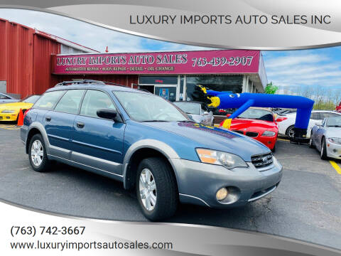 2005 Subaru Outback for sale at LUXURY IMPORTS AUTO SALES INC in North Branch MN