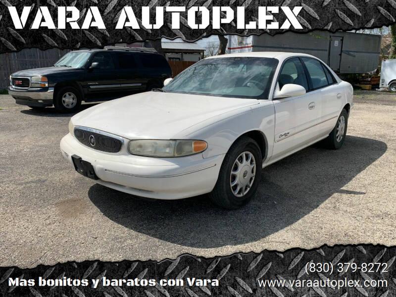 2001 Buick Century for sale at VARA AUTOPLEX in Seguin TX