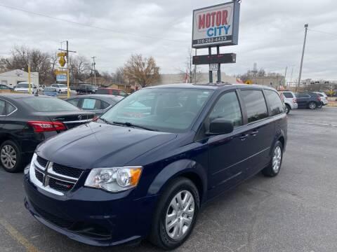 2016 Dodge Grand Caravan for sale at Motor City Sales in Wichita KS