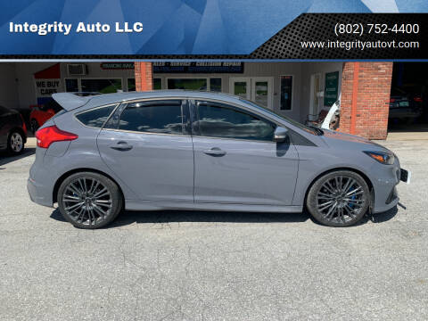 2017 Ford Focus for sale at Integrity Auto LLC in Sheldon VT