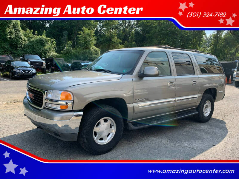 2003 GMC Yukon XL for sale at Amazing Auto Center in Capitol Heights MD