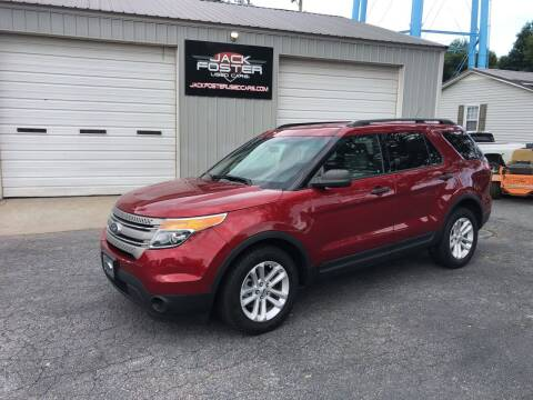 2015 Ford Explorer for sale at Jack Foster Used Cars LLC in Honea Path SC