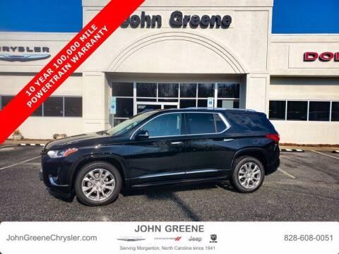 2019 Chevrolet Traverse for sale at John Greene Chrysler Dodge Jeep Ram in Morganton NC