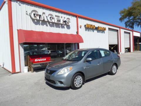2014 Nissan Versa for sale at Gagel's Auto Sales in Gibsonton FL