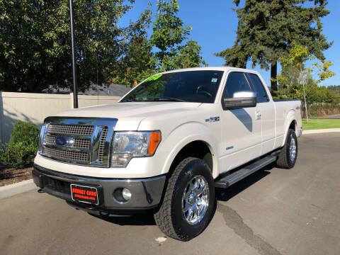 2012 Ford F-150 for sale at Matthews Motors LLC in Auburn WA