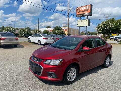 2017 Chevrolet Sonic for sale at Autohaus of Greensboro in Greensboro NC