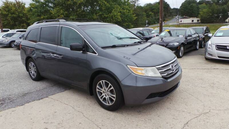2012 Honda Odyssey for sale at Unlimited Auto Sales in Upper Marlboro MD